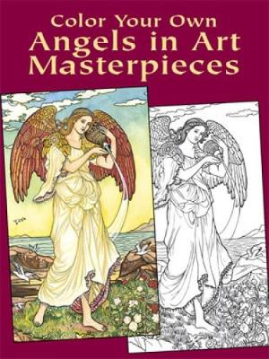 Color Your Own Angels in Art Master by Marty Noble