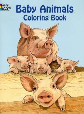 Baby Animals Coloring Book by Ruth Soffer