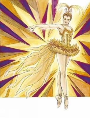 Ballet Costumes Coloring Book by Brenda Sneathen Mattox
