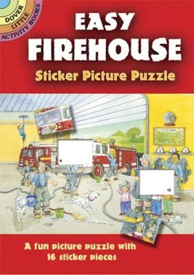 Easy Firehouse Sticker Picture Puzzle by Cathy Beylon