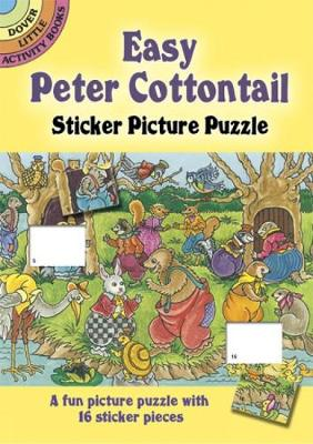 Easy Peter Cottontail Sticker Picture Puzzle by Pat Stewart