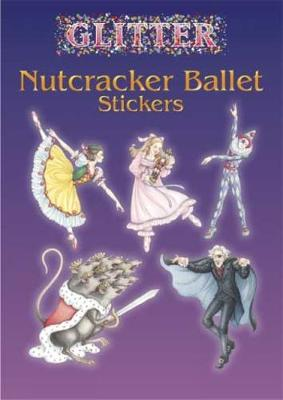Glitter Nutcracker Ballet Stickers by Darcy May