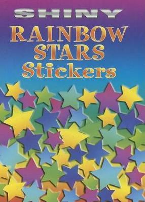 Shiny Rainbow Stars Stickers by