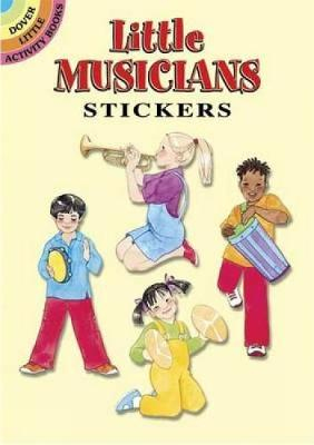 Little Musicians Stickers by Sylvia Walker