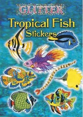 Glitter Tropical Fish Stickers by Nina Barbaresi
