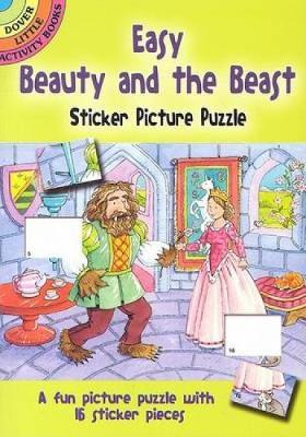 Easy Beauty and the Beast Sticker Picture Puzzle by Cathy Beylon