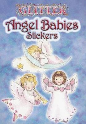 Glitter Angel Babies Stickers by Sue Shanahan