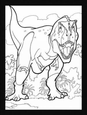 Dinosaurs Stained Glass Coloring Book by Jan Sovak