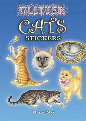Glitter Cats Stickers by Darcy May