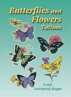 Butterflies and Flowers Tattoos by Charlene Tarbox