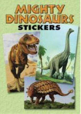 Mighty Dinosaurs Stickers 36 Stickers, 9 Different Designs by Jan Sovak