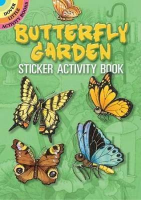 Butterfly Garden Sticker Activity Book by Cathy Beylon