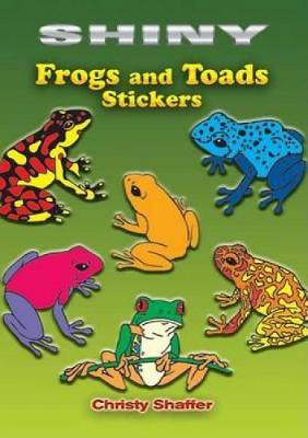 Shiny Frogs and Toads Stickers by Christy Shaffer