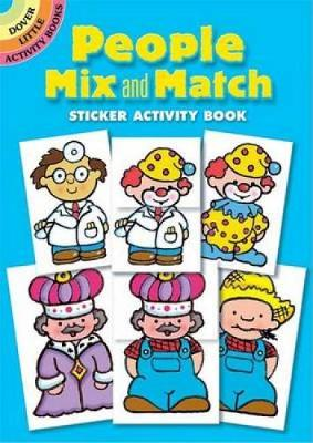 People Mix and Match Sticker Activity Book by Robbie Stillerman