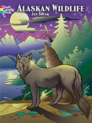 Alaskan Wildlife Coloring Book by Jan Sovak