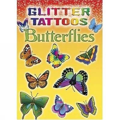 Glitter Tattoos Butterflies by Jan Sovak