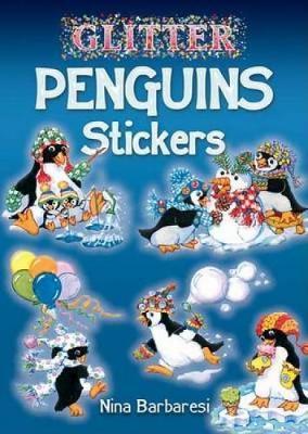 Glitter Penguins Stickers by Nina Barbaresi