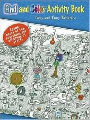 Find and Color Activity Book by Tony Tallarico