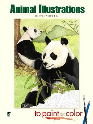 Animal Illustrations to Paint or Color by Ruth Soffer