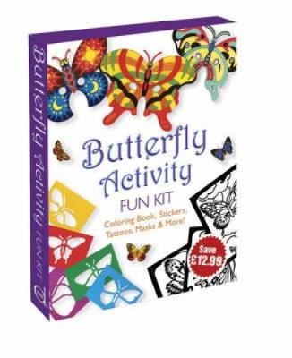 Butterfly Activity Fun Kit by Dover