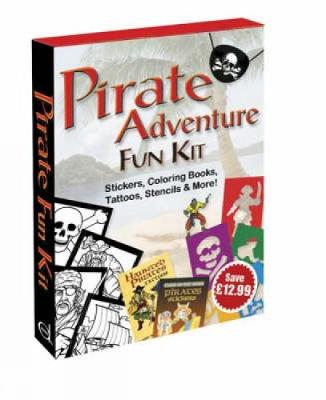 Pirate Adventure Fun Kit by Dover