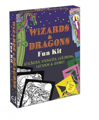 Wizards and Dragons Fun Kit by Dover