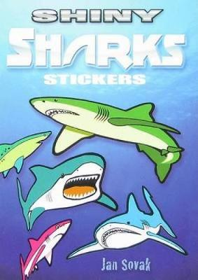 Shiny Sharks Stickers by Jan Sovak