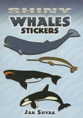Shiny Whales Stickers by Jan Sovak