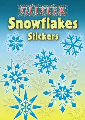 Glitter Snowflakes Stickers by Christy Shaffer