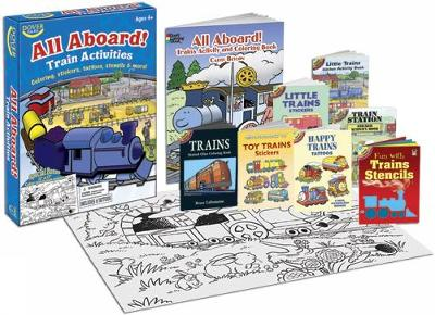 All Aboard! Train Activities Fun Kit by