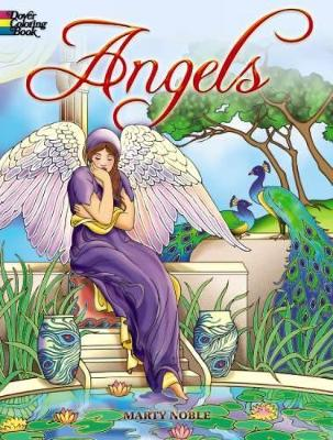 Angels Coloring Book by Marty Noble