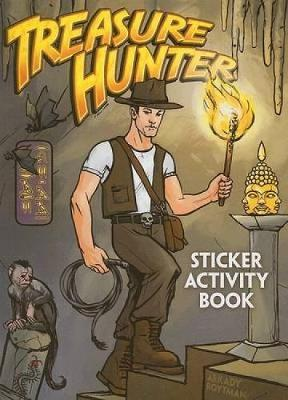 Treasure Hunter Sticker Activity Book by Arkady Roytman