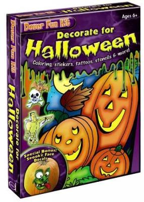 Decorate for Halloween Fun Kit by Dover