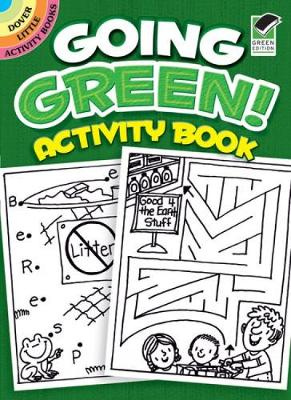Going Green! Activity Book by Becky Radtke, Activity Books