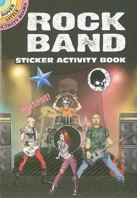 Rock Band Sticker Activity Book by Scott Altmann