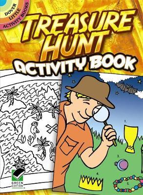 Treasure Hunt Activity Book by Jessica Mazurkiewicz, Activity Books