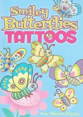 Smiley Butterflies Tattoos by Fran Newman-D'Amico