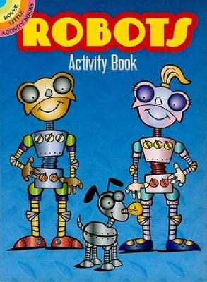 Robots Activity Book by Susan Shaw-Russell