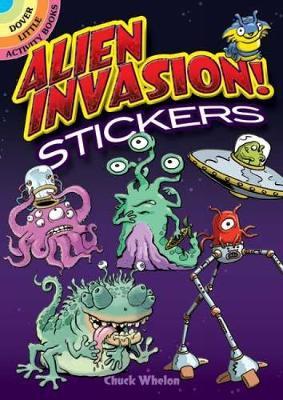 Alien Invasion! Stickers by Chuck Whelon