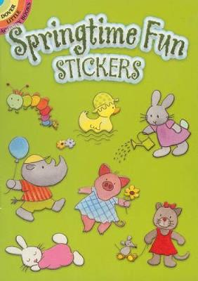 Springtime Fun Stickers by Hans Wilhelm