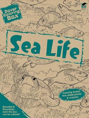 Dover Coloring Box -- Sea Life by Dover