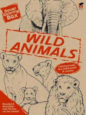 Dover Coloring Box -- Wild Animals by