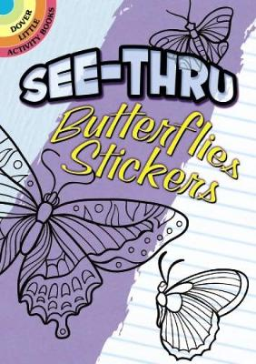 See-Thru Butterflies Stickers by Jessica Mazurkiewicz