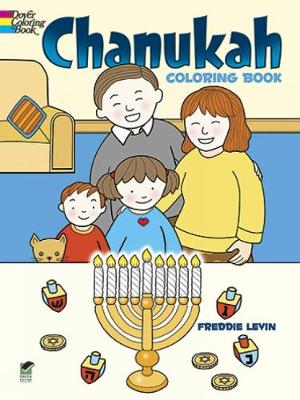 Chanukah Coloring Book by Freddie Levin