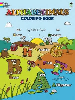 Alphabetimals Coloring Book by Patrick O'Toole