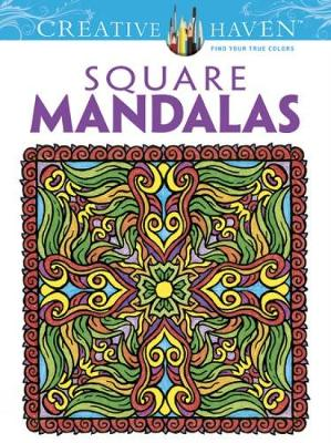Square Mandalas by Alberta Hutchinson