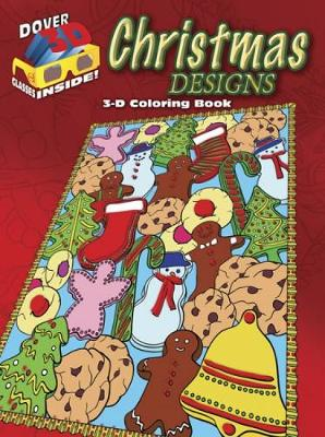 3-D Coloring Book - Christmas Designs by Marty Noble, Jessica Mazurkiewicz