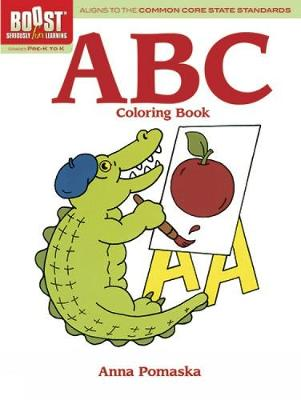BOOST ABC Coloring Book by Anna Pomaska