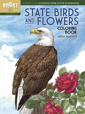 BOOST State Birds and Flowers Coloring Book by Annika Bernhard