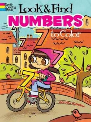 Look & Find Numbers to Color by Victoria Maderna